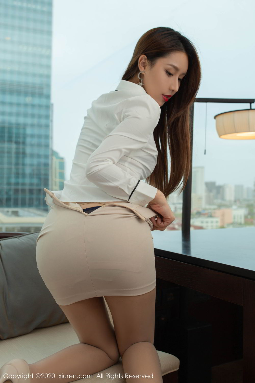 [XiuRen] Vol.2154 Xu An An 46P, Underwear, Uniform, Xiuren, Xu An An
