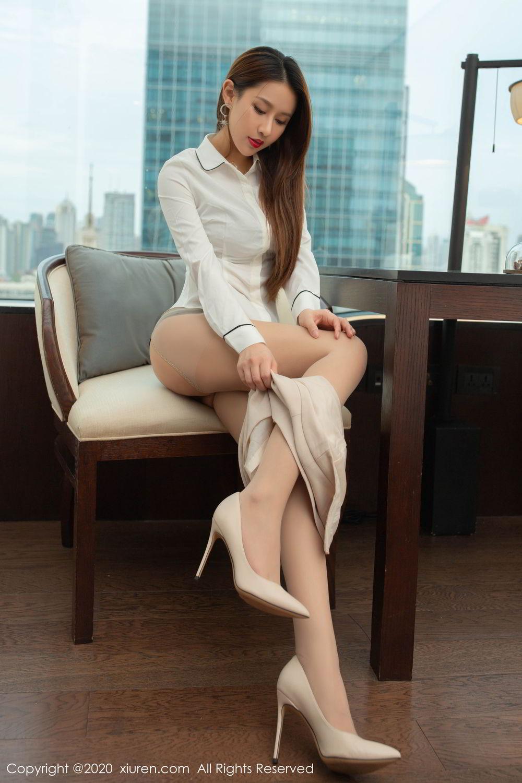 [XiuRen] Vol.2154 Xu An An 49P, Underwear, Uniform, Xiuren, Xu An An