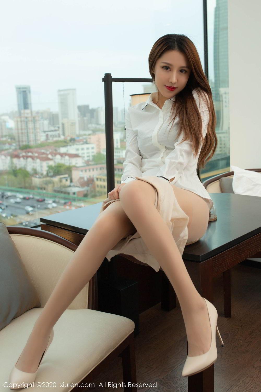 [XiuRen] Vol.2154 Xu An An 50P, Underwear, Uniform, Xiuren, Xu An An