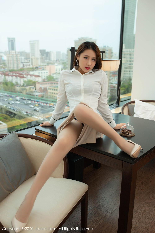 [XiuRen] Vol.2154 Xu An An 51P, Underwear, Uniform, Xiuren, Xu An An