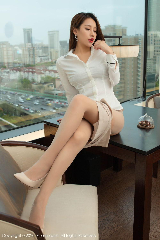 [XiuRen] Vol.2154 Xu An An 53P, Underwear, Uniform, Xiuren, Xu An An