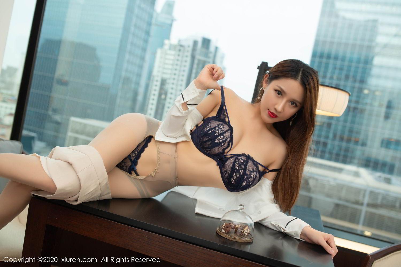[XiuRen] Vol.2154 Xu An An 55P, Underwear, Uniform, Xiuren, Xu An An