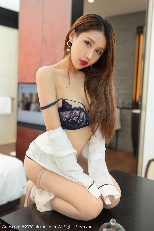 [XiuRen] Vol.2154 Xu An An 62P, Underwear, Uniform, Xiuren, Xu An An