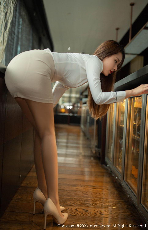 [XiuRen] Vol.2154 Xu An An 9P, Underwear, Uniform, Xiuren, Xu An An