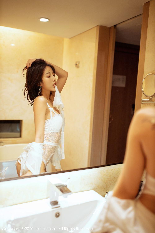 [XiuRen] Vol.2158 Chen Xiao Miao 15P, Bathroom, Chen Xiao Miao, Tall, Wet, Xiuren