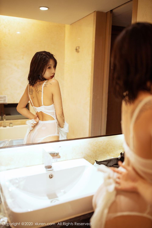 [XiuRen] Vol.2158 Chen Xiao Miao 17P, Bathroom, Chen Xiao Miao, Tall, Wet, Xiuren