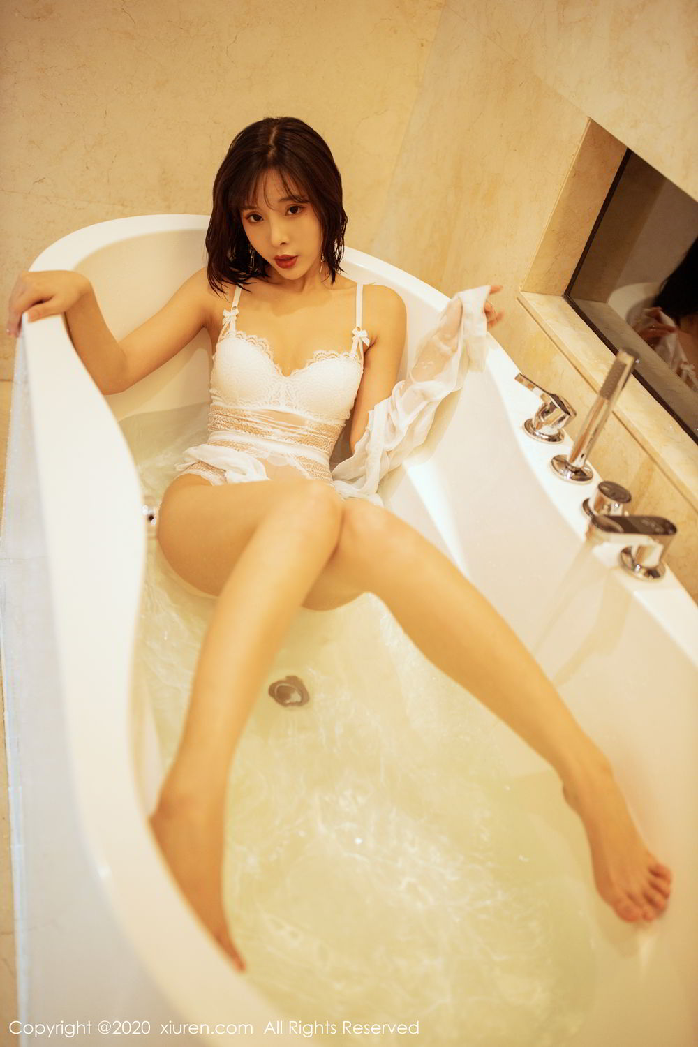 [XiuRen] Vol.2158 Chen Xiao Miao 26P, Bathroom, Chen Xiao Miao, Tall, Wet, Xiuren
