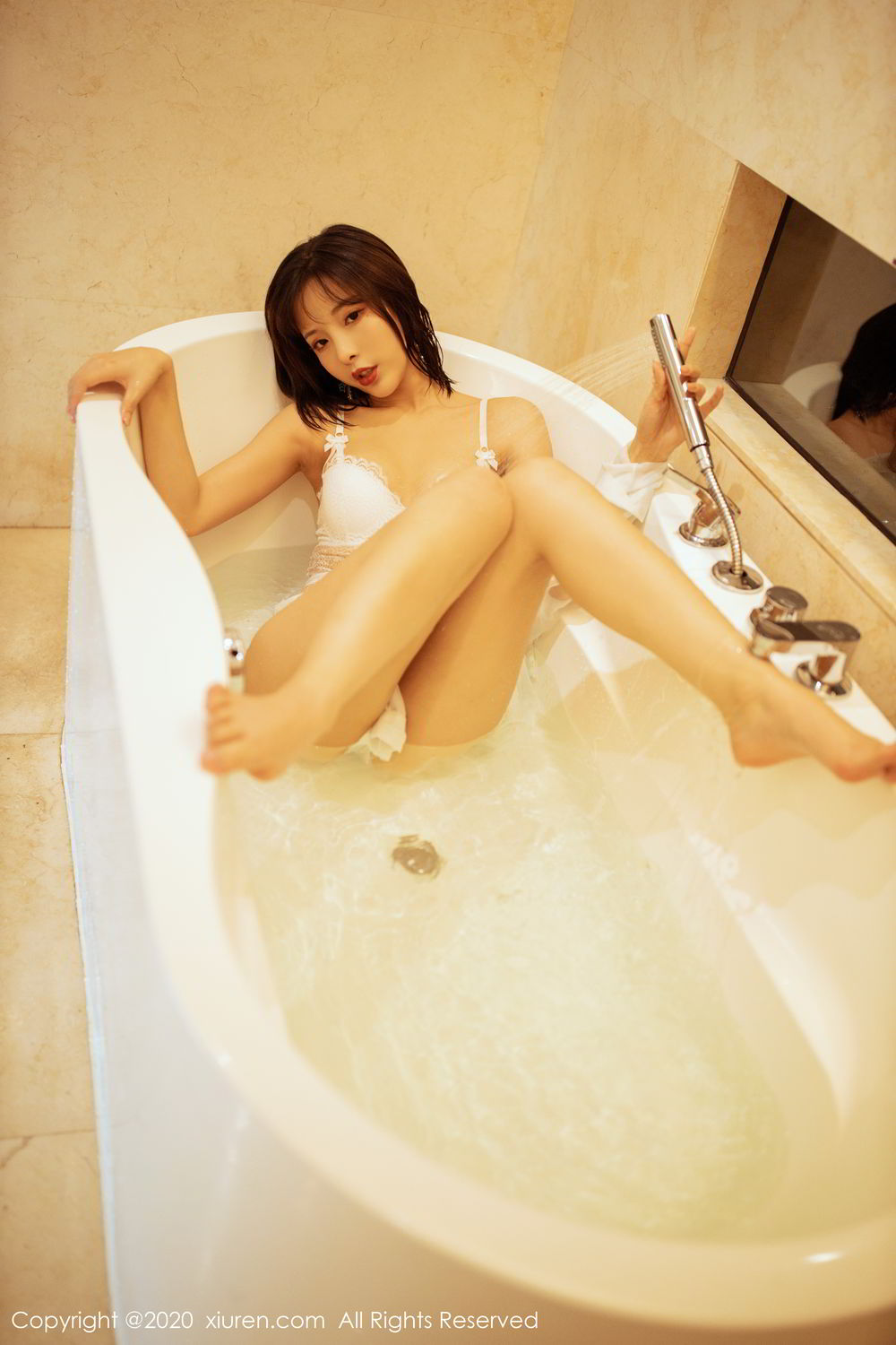 [XiuRen] Vol.2158 Chen Xiao Miao 27P, Bathroom, Chen Xiao Miao, Tall, Wet, Xiuren