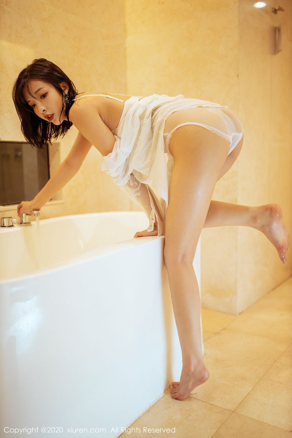 [XiuRen] Vol.2158 Chen Xiao Miao 32P, Bathroom, Chen Xiao Miao, Tall, Wet, Xiuren