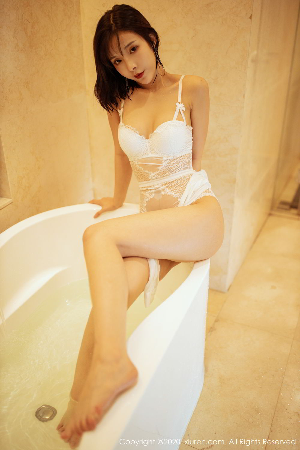 [XiuRen] Vol.2158 Chen Xiao Miao 37P, Bathroom, Chen Xiao Miao, Tall, Wet, Xiuren