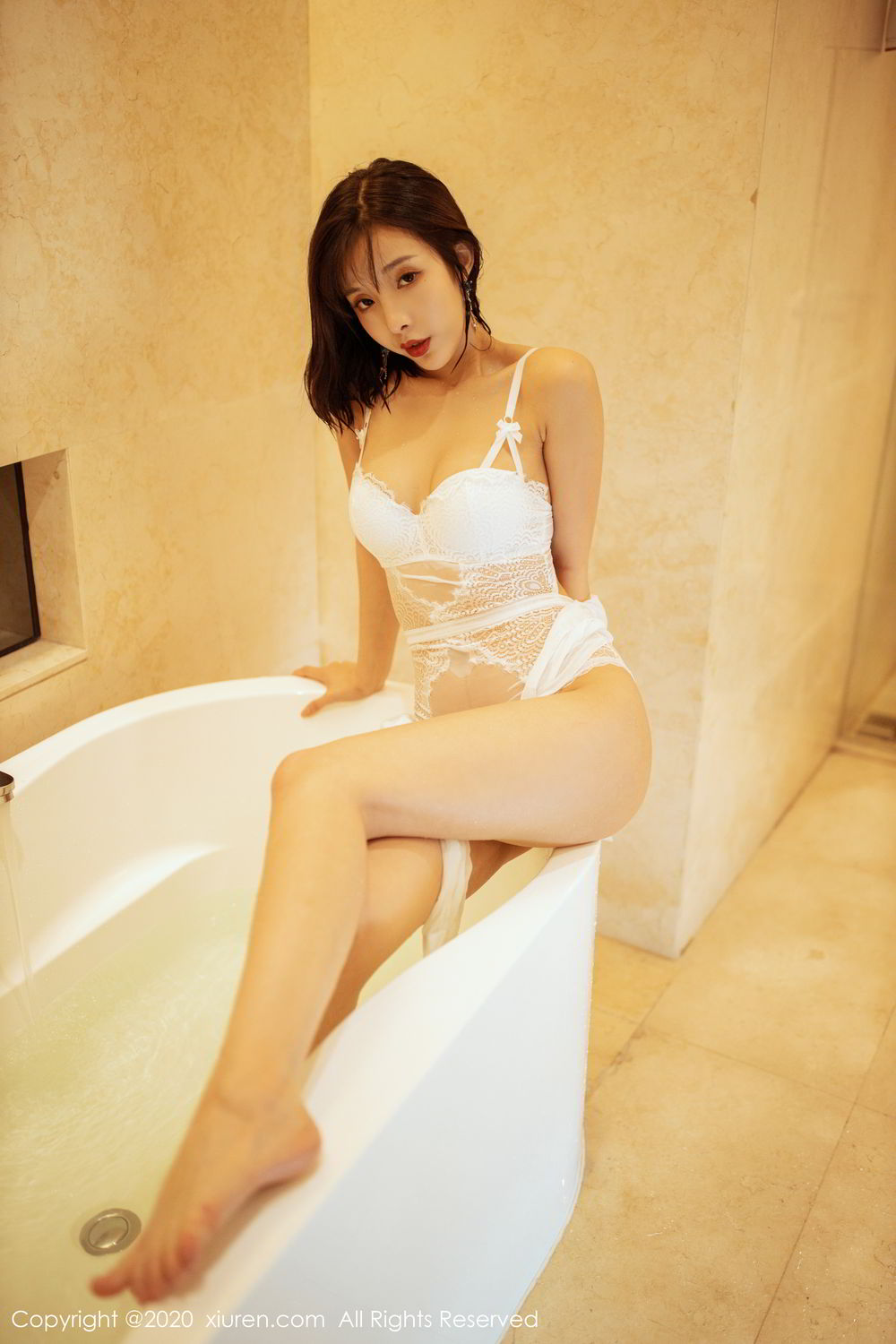 [XiuRen] Vol.2158 Chen Xiao Miao 38P, Bathroom, Chen Xiao Miao, Tall, Wet, Xiuren