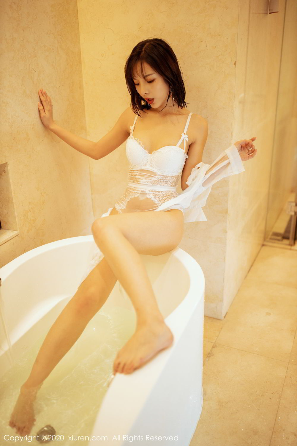 [XiuRen] Vol.2158 Chen Xiao Miao 39P, Bathroom, Chen Xiao Miao, Tall, Wet, Xiuren