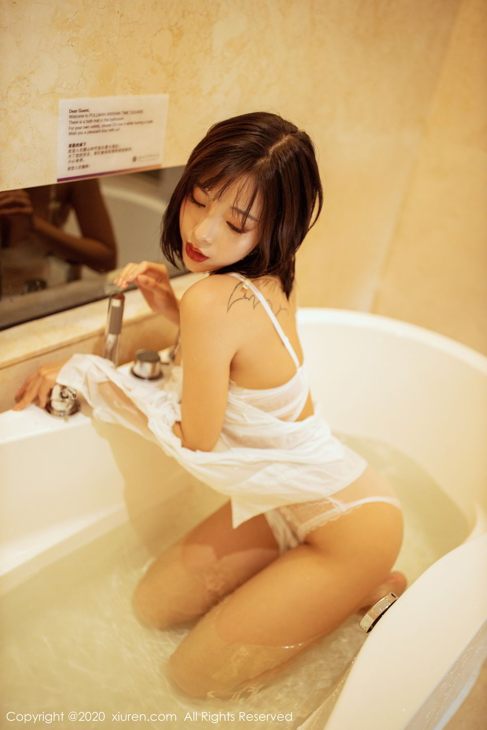 [XiuRen] Vol.2158 Chen Xiao Miao 45P, Bathroom, Chen Xiao Miao, Tall, Wet, Xiuren