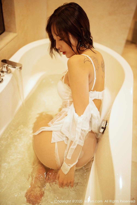 [XiuRen] Vol.2158 Chen Xiao Miao 49P, Bathroom, Chen Xiao Miao, Tall, Wet, Xiuren