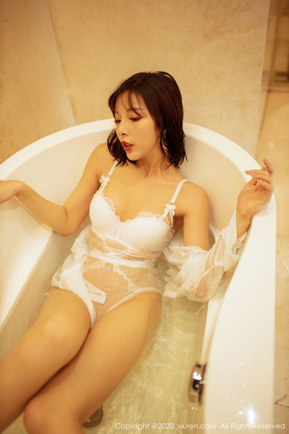 [XiuRen] Vol.2158 Chen Xiao Miao 51P, Bathroom, Chen Xiao Miao, Tall, Wet, Xiuren