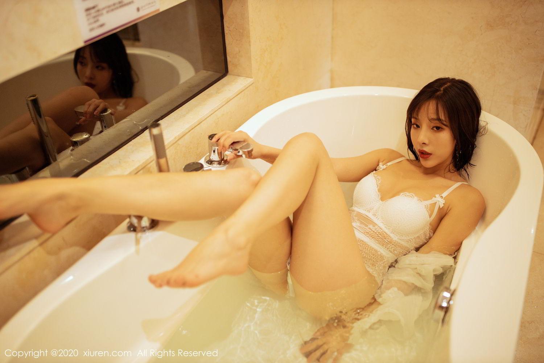 [XiuRen] Vol.2158 Chen Xiao Miao 56P, Bathroom, Chen Xiao Miao, Tall, Wet, Xiuren
