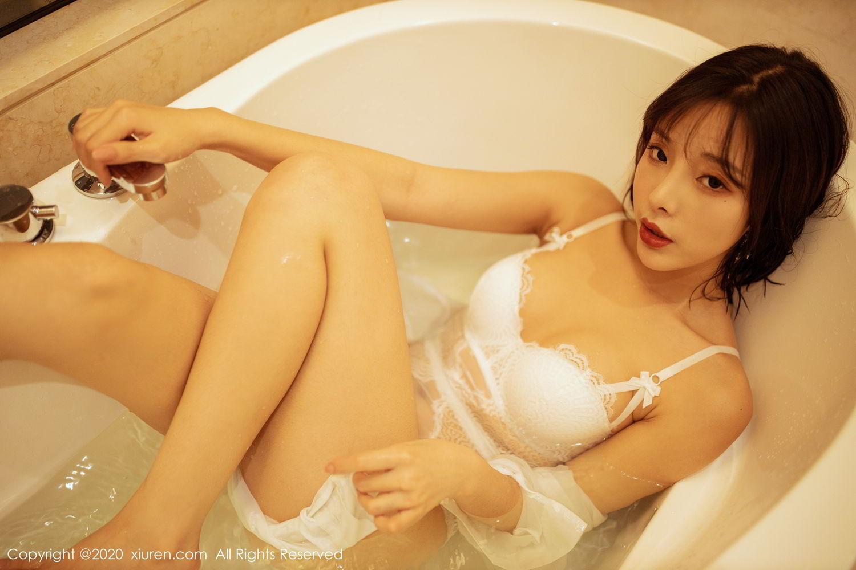 [XiuRen] Vol.2158 Chen Xiao Miao 57P, Bathroom, Chen Xiao Miao, Tall, Wet, Xiuren