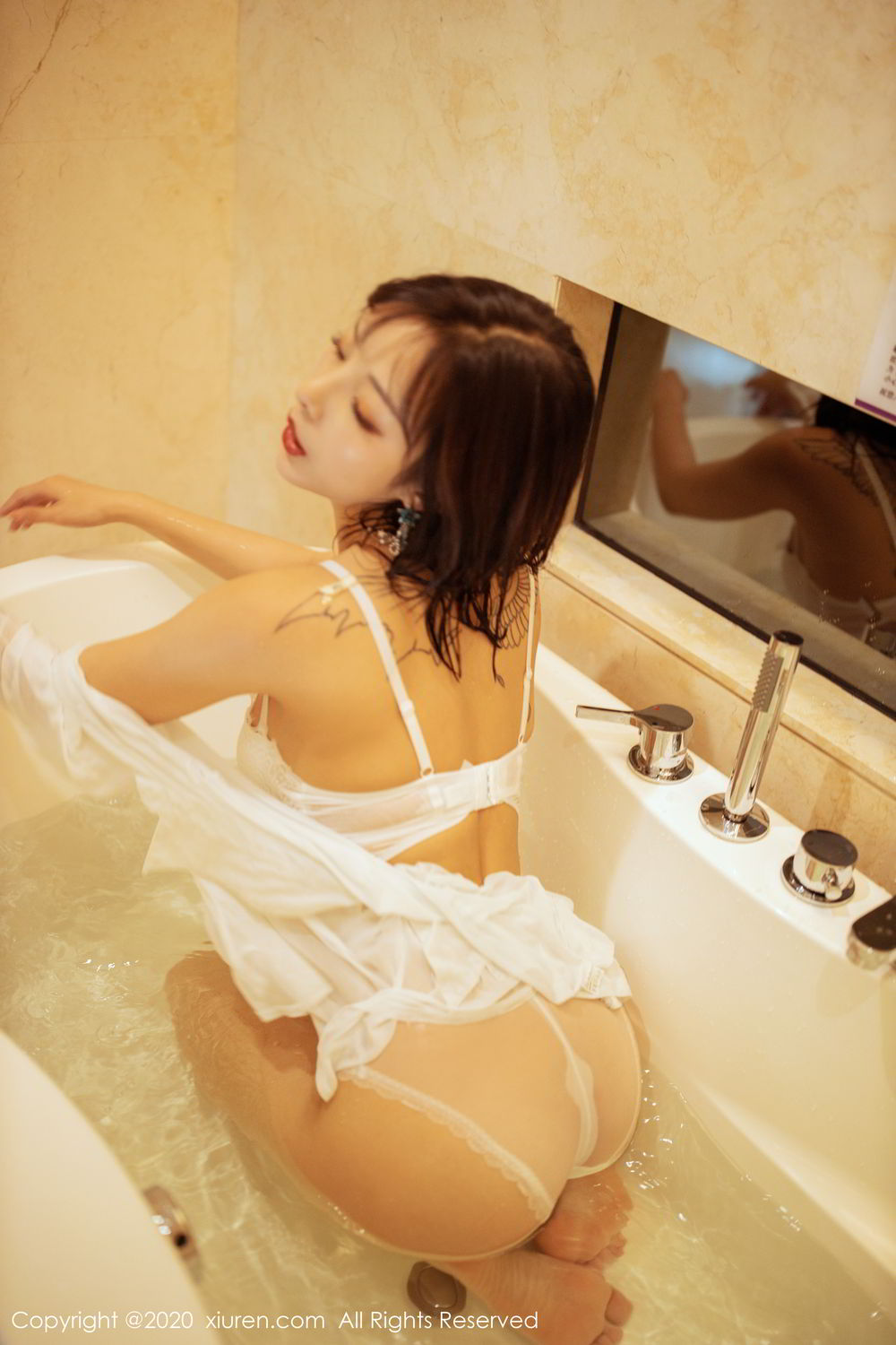 [XiuRen] Vol.2158 Chen Xiao Miao 59P, Bathroom, Chen Xiao Miao, Tall, Wet, Xiuren