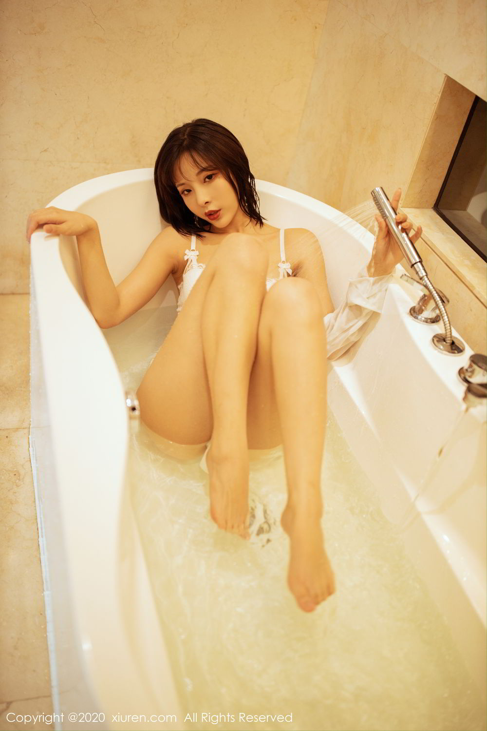 [XiuRen] Vol.2158 Chen Xiao Miao 5P, Bathroom, Chen Xiao Miao, Tall, Wet, Xiuren