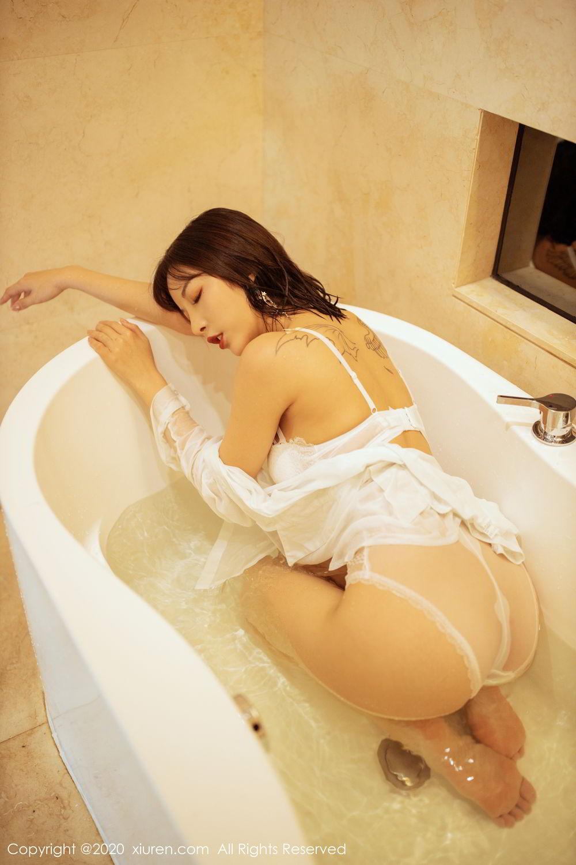 [XiuRen] Vol.2158 Chen Xiao Miao 60P, Bathroom, Chen Xiao Miao, Tall, Wet, Xiuren