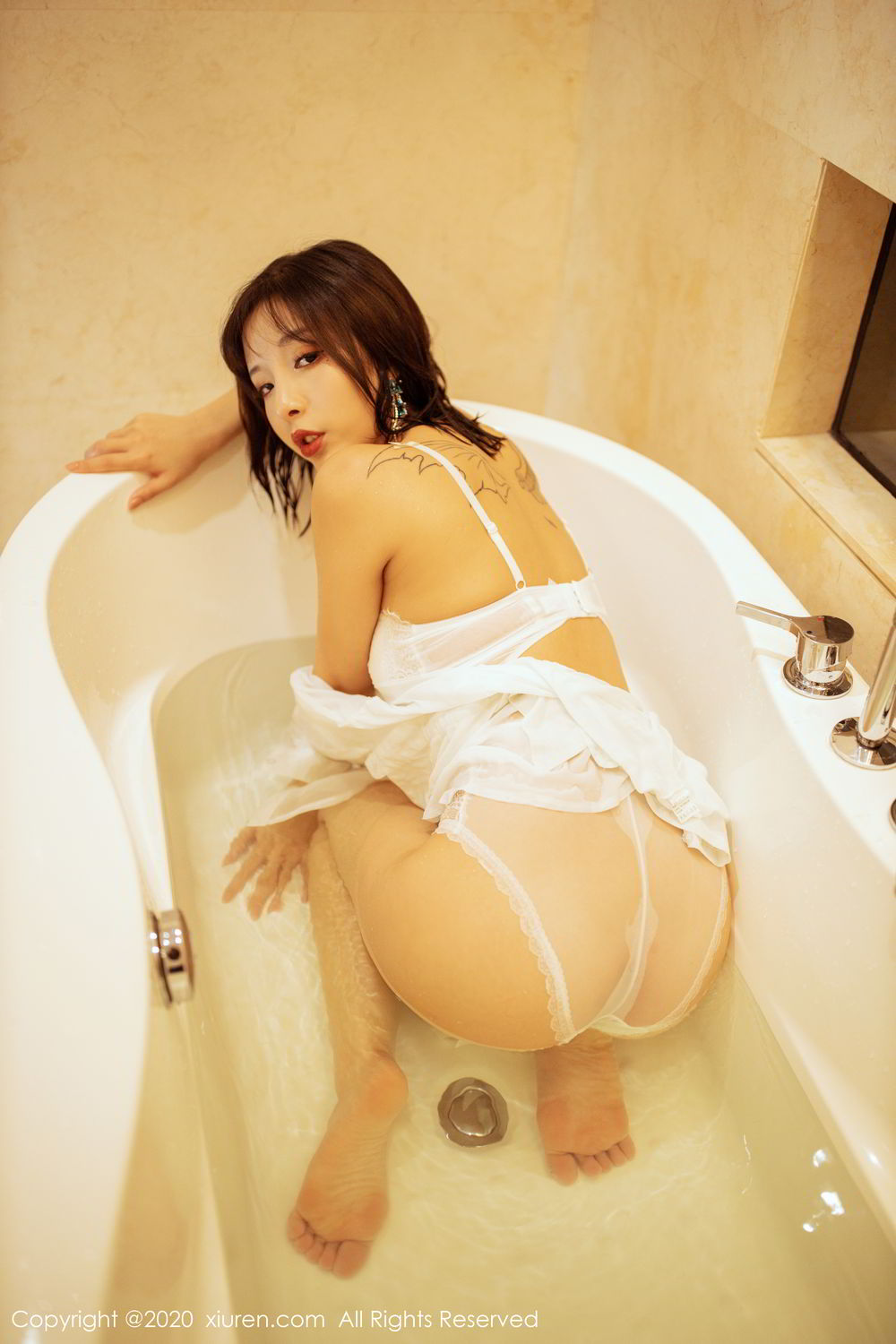 [XiuRen] Vol.2158 Chen Xiao Miao 61P, Bathroom, Chen Xiao Miao, Tall, Wet, Xiuren