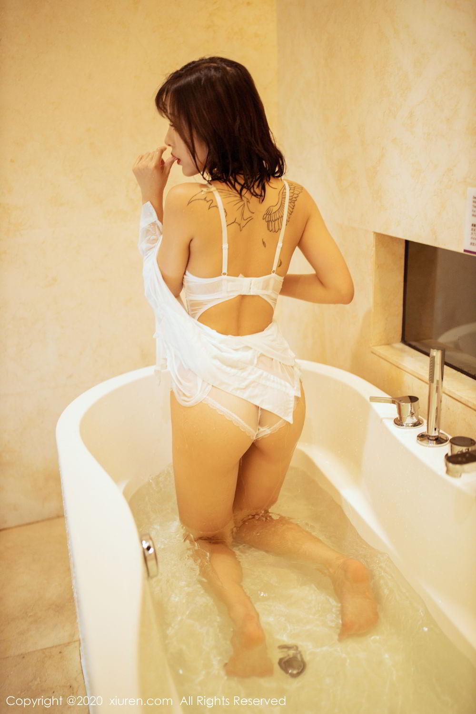 [XiuRen] Vol.2158 Chen Xiao Miao 62P, Bathroom, Chen Xiao Miao, Tall, Wet, Xiuren