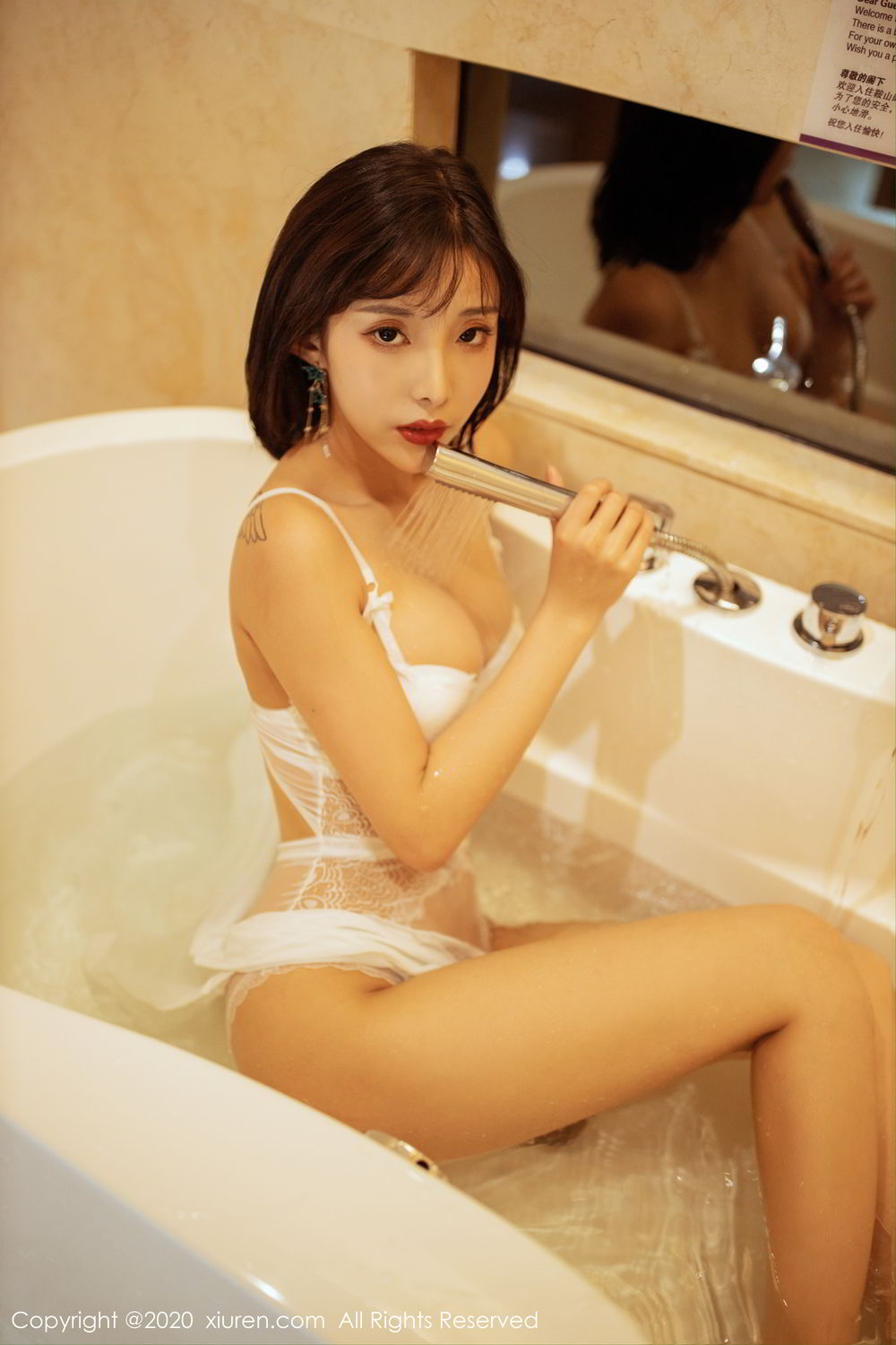 [XiuRen] Vol.2158 Chen Xiao Miao 65P, Bathroom, Chen Xiao Miao, Tall, Wet, Xiuren