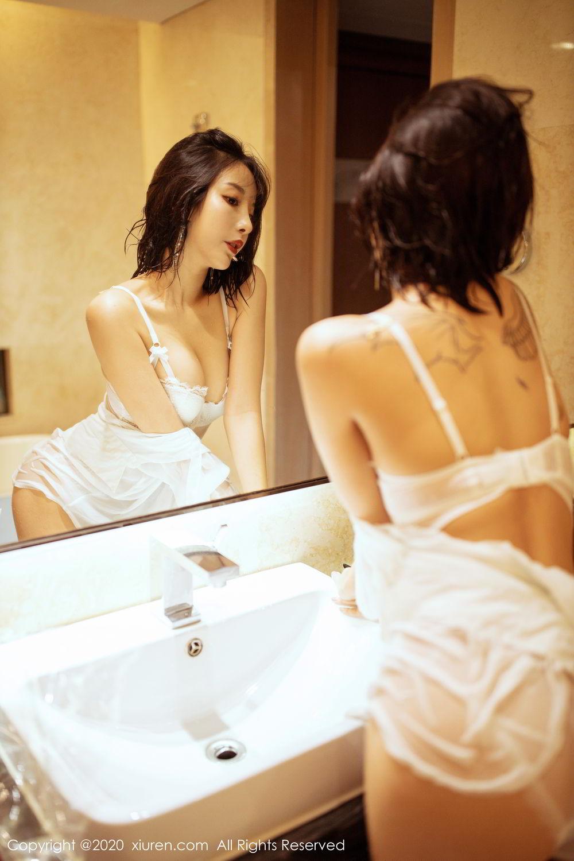[XiuRen] Vol.2158 Chen Xiao Miao 8P, Bathroom, Chen Xiao Miao, Tall, Wet, Xiuren