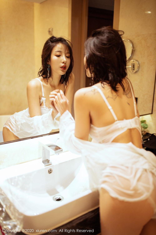 [XiuRen] Vol.2158 Chen Xiao Miao 9P, Bathroom, Chen Xiao Miao, Tall, Wet, Xiuren