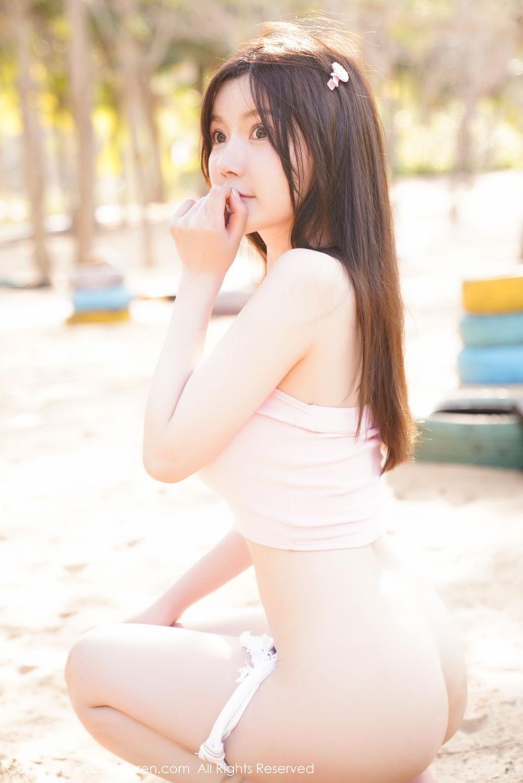 [XiuRen] Vol.2162 Nuo Mei Zi 40P, Bikini, Mini Da Meng Meng, Outdoor, Xiuren