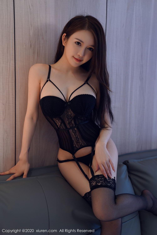 [XiuRen] Vol.2170 Yu Tu Miki 72P, Black Silk, Uniform, Xiuren, Yu Tu M I K I