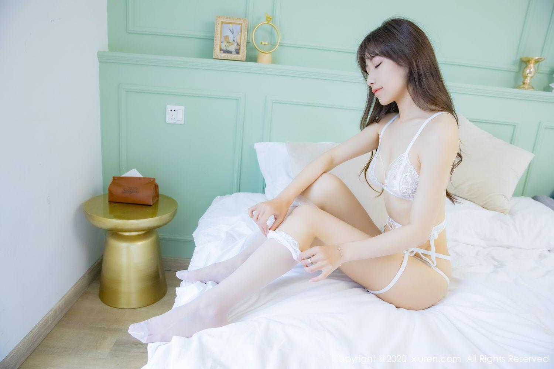 [XiuRen] Vol.2173 Bunny Qi Qi 38P, Pure, Qi Qi Jiang, Underwear, Xiuren