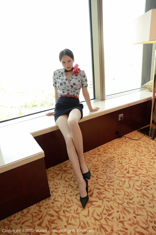[XiuRen] Vol.2179 Yue Yin Tong 6P, Adult, Stewardess, Underwear, Xiuren, Yue Yin Tong