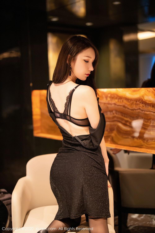[XiuRen] Vol.2180 Zhou Yu Xi 59P, Black Silk, Tall, Xiuren, Zhou Yu Xi