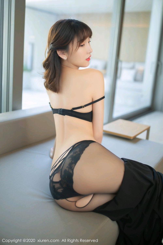 [XiuRen] Vol.2185 Lu Xuan Xuan 22P, Black Silk, Lu Xuan Xuan, Underwear, Xiuren