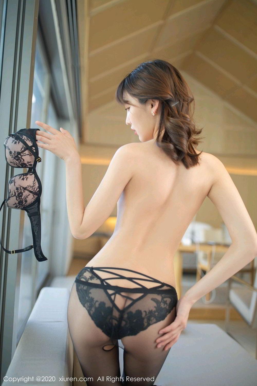 [XiuRen] Vol.2185 Lu Xuan Xuan 27P, Black Silk, Lu Xuan Xuan, Underwear, Xiuren