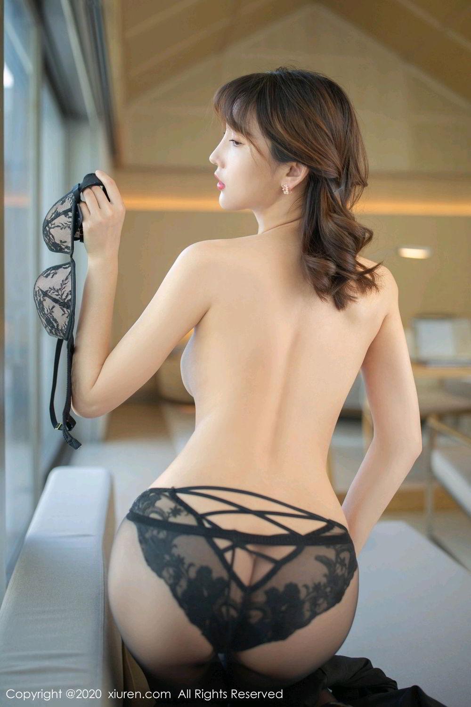 [XiuRen] Vol.2185 Lu Xuan Xuan 28P, Black Silk, Lu Xuan Xuan, Underwear, Xiuren