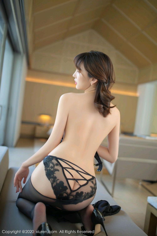 [XiuRen] Vol.2185 Lu Xuan Xuan 30P, Black Silk, Lu Xuan Xuan, Underwear, Xiuren