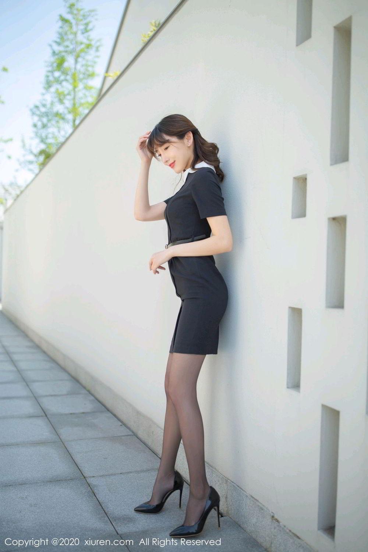 [XiuRen] Vol.2185 Lu Xuan Xuan 54P, Black Silk, Lu Xuan Xuan, Underwear, Xiuren