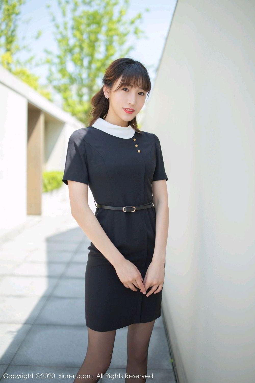 [XiuRen] Vol.2185 Lu Xuan Xuan 56P, Black Silk, Lu Xuan Xuan, Underwear, Xiuren