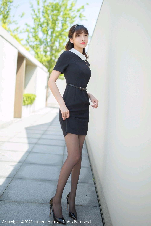 [XiuRen] Vol.2185 Lu Xuan Xuan 57P, Black Silk, Lu Xuan Xuan, Underwear, Xiuren