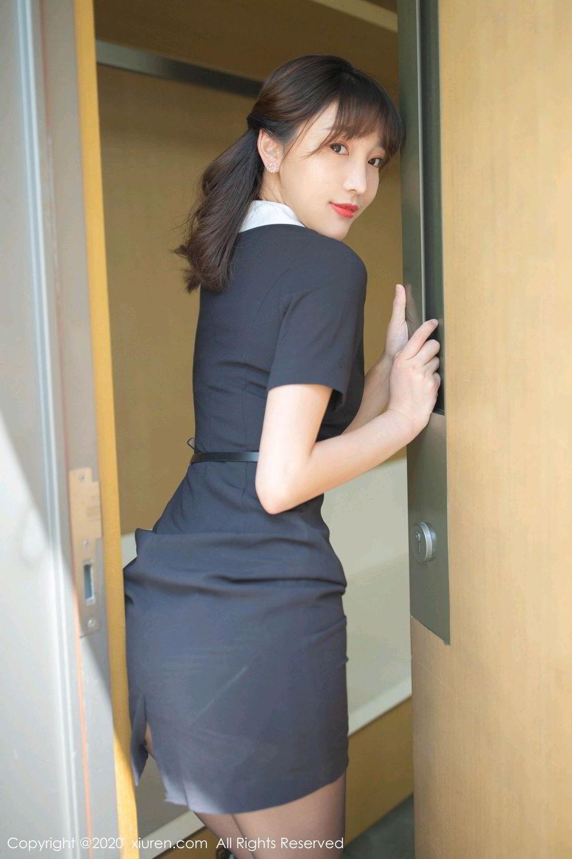 [XiuRen] Vol.2185 Lu Xuan Xuan 59P, Black Silk, Lu Xuan Xuan, Underwear, Xiuren