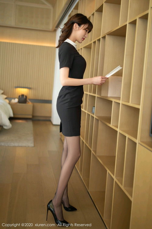[XiuRen] Vol.2185 Lu Xuan Xuan 67P, Black Silk, Lu Xuan Xuan, Underwear, Xiuren