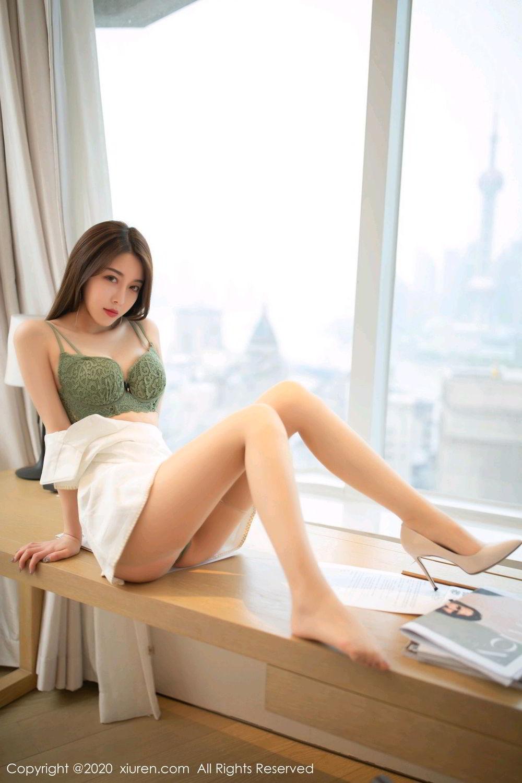 [XiuRen] Vol.2190 Xia Shi Wen 1P, Underwear, Xia Shi Shi, Xiuren