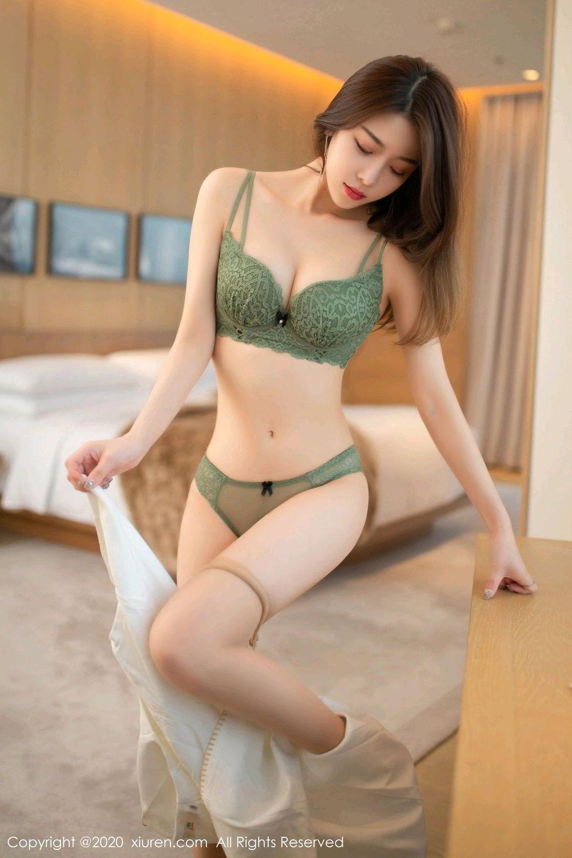 [XiuRen] Vol.2190 Xia Shi Wen 4P, Underwear, Xia Shi Shi, Xiuren