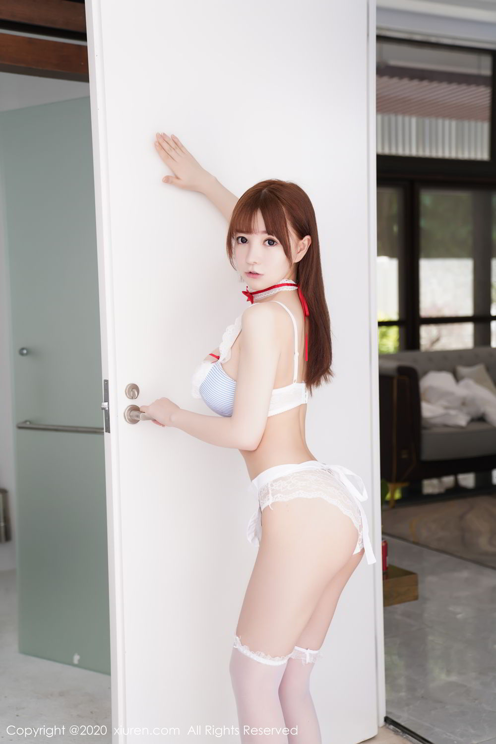 [XiuRen] Vol.2193 Uu Jiang 54P, Baby Face Big Boobs, Cute, UU Jiang, Xiuren