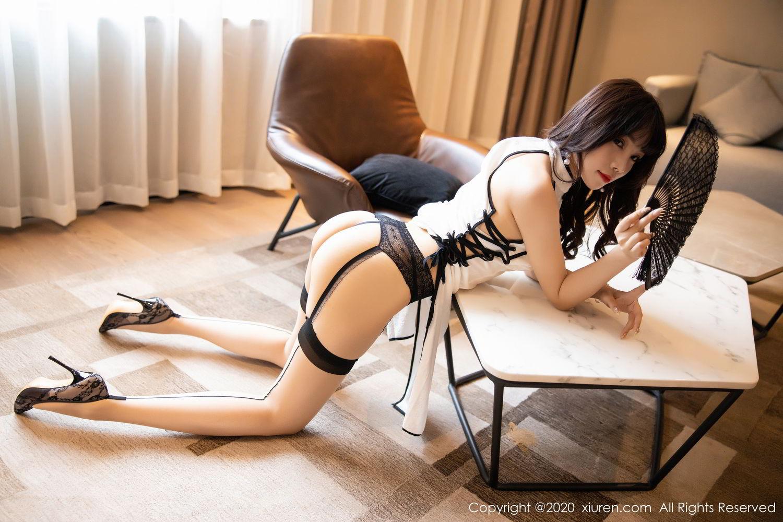 [XiuRen] Vol.2195 Zhi Zhi Booty 42P, Chen Zhi, Cheongsam, Tall, Underwear, Xiuren