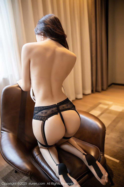 [XiuRen] Vol.2195 Zhi Zhi Booty 4P, Chen Zhi, Cheongsam, Tall, Underwear, Xiuren
