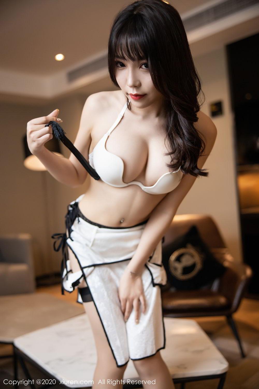 [XiuRen] Vol.2195 Zhi Zhi Booty 53P, Chen Zhi, Cheongsam, Tall, Underwear, Xiuren