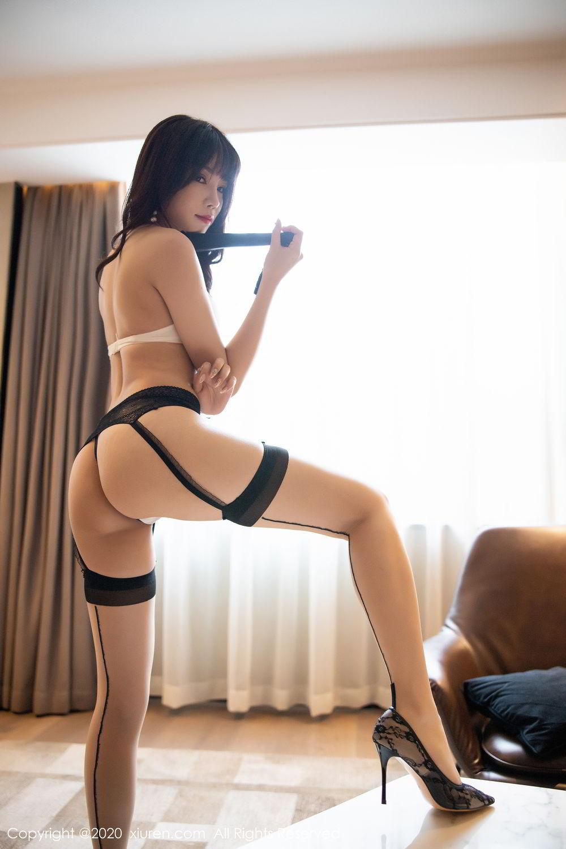 [XiuRen] Vol.2195 Zhi Zhi Booty 61P, Chen Zhi, Cheongsam, Tall, Underwear, Xiuren